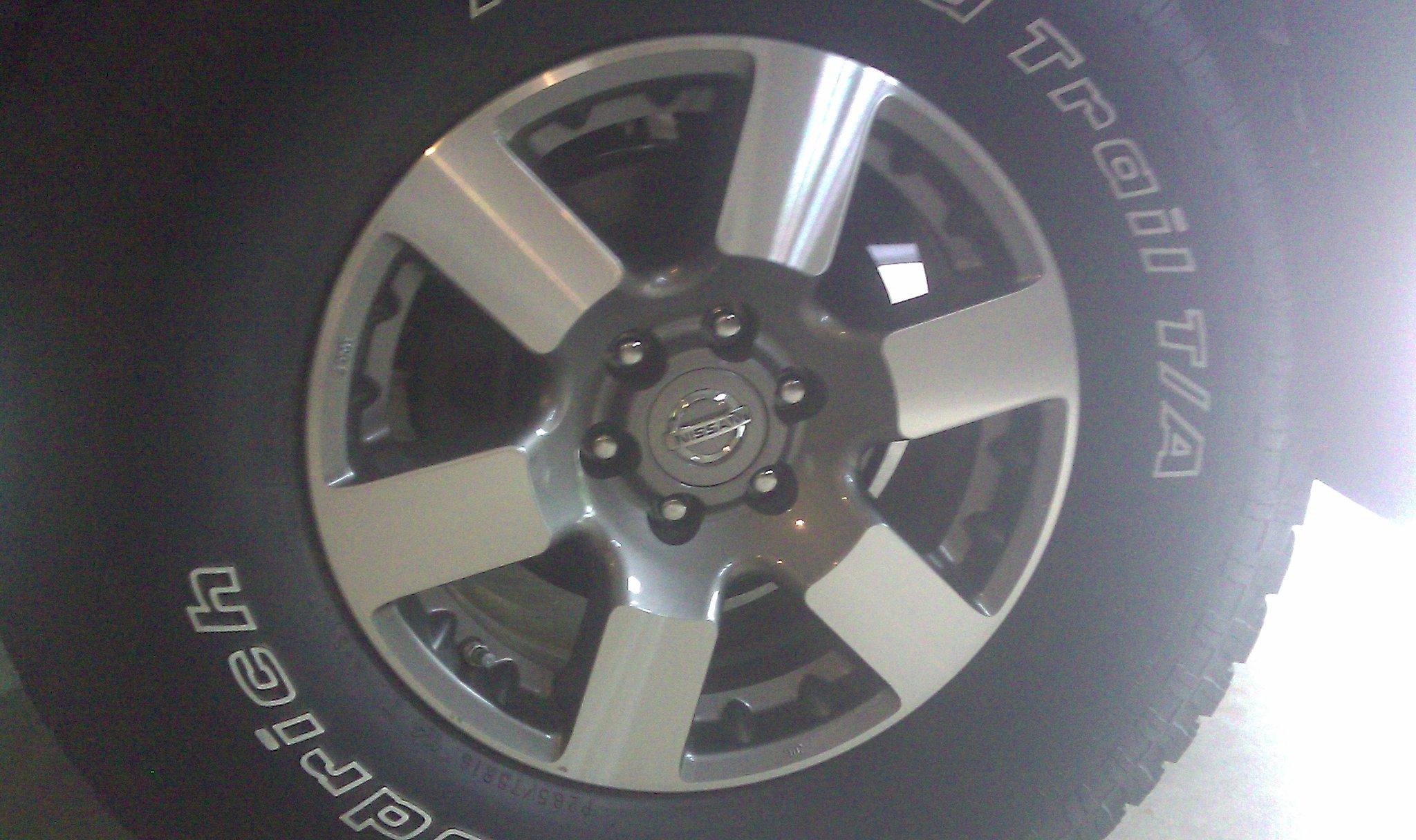 Oem 09 Nissan Frontier Pro 4x Parts Wheels For Sale Nissan Xterra Forum