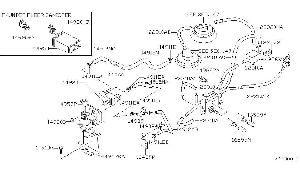 Vacuum Line Diagram  Pics